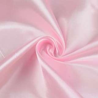 Атлас розовый светлый ш.150