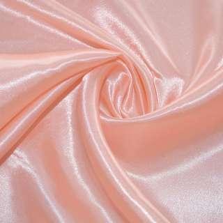 Атлас бледно-розовый ш.150