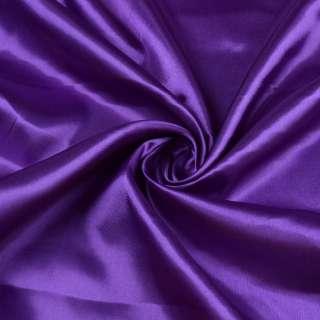 Атлас фиолетово-сиреневый ш.150