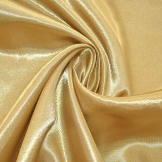 Атлас золотистый светлый ш.150