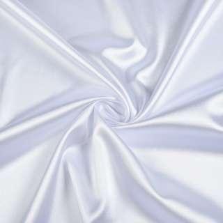 Атлас стрейч белый ш.150