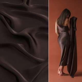 Шелк японский темно-коричневый ш.150