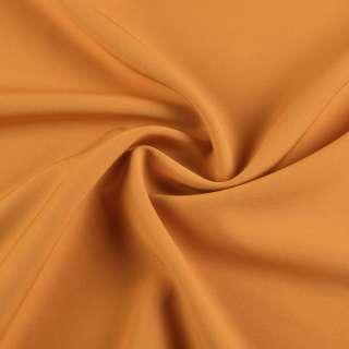 Креп костюмный бистрейч горчично-желтый ш.150