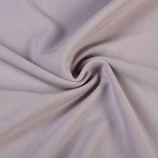 Креп костюмный бистрейч серо-сиреневый ш.150