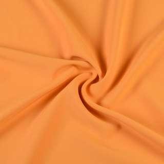 Креп костюмный бистрейч желтый с оранжевым оттенком ш.150