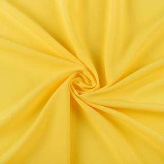 Бистрейч плательный желтый яркий, ш.150