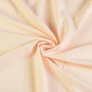 Биэластик гладкий кремовый ш.150