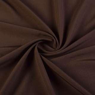 Биэластик гладкий коричневый ш.150