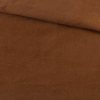 Микровельвет коричневый не стрейч, ш.145