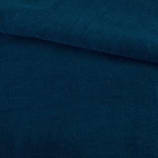 Микровельвет синий темный не стрейч, ш.145