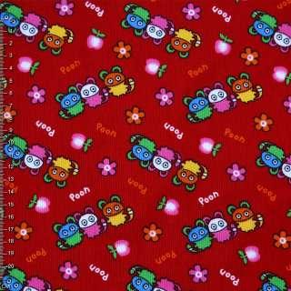 Микровельвет красный Poon ш.112