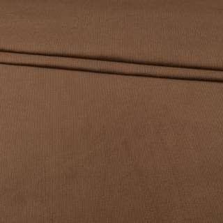 Микровельвет стрейч молочно-коричневый ш.150