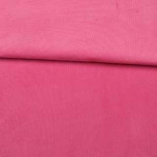 Микровельвет стрейч розовый яркий ш.145