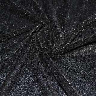Велюр стрейч черный ш.150