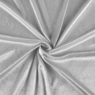 Велюр стрейч серый, ш.170