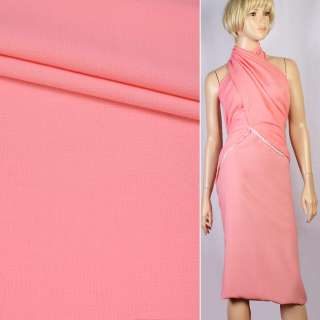 Креп розово-персиковый ш.155