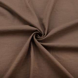 Вискоза стрейч коричневая ш.145
