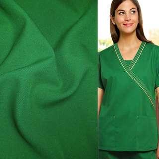 Габардин зеленый ш.150