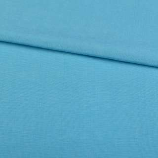 Поликоттон голубой ш.152