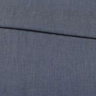 Джинс синий, дублированный флизелином, ш.140