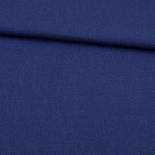 Креп лен стрейч синий, ш.150