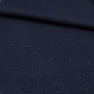 Креп лен стрейч синий темный, ш.150