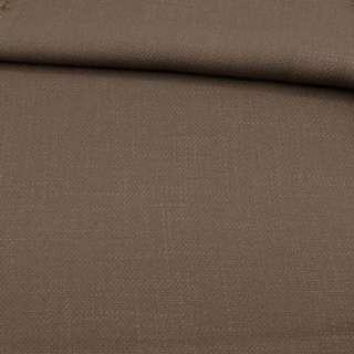 Креп лен стрейч коричневый, ш.150