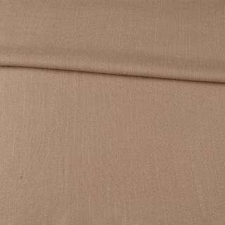 Креп лен стрейч бежевый ш.150
