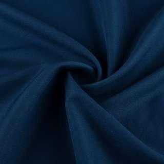Креп стрейч синий ш.150