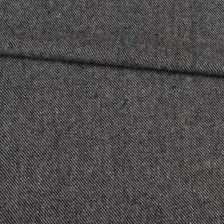 Твид диагональ черно-серый, ш.148