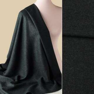 Твид костюмный черно-зеленый ш.155