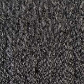 Твид жатый черно-белый, ш.138