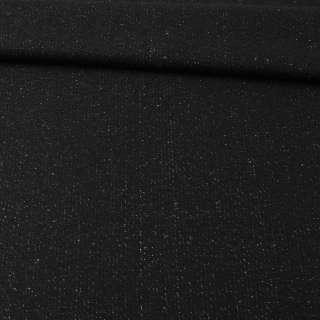 Твид черный с люрексом ш.150