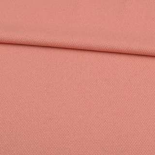 Жаккард розово-персиковый ш.150