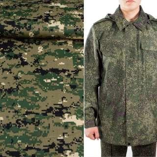 Ткань камуфляжная болотная светлая с зелено-черным ш.150