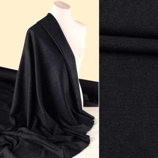 Шенилл костюмный черный ш.145