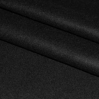 Ткань костюмная черная ш.158