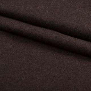 Ткань костюмная коричневая ш.150