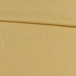 Коттон меланж стрейч горчичный светлый, ш.145