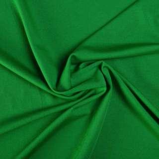 Микролайкра зеленая изумрудная ш.165