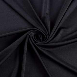 Лайкра тонкая черная, ш.165