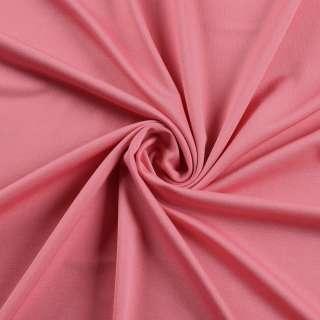 Лайкра тонкая розовая чайная роза яркая, ш.165