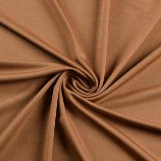 Лайкра тонкая коричневая светлая, ш.165