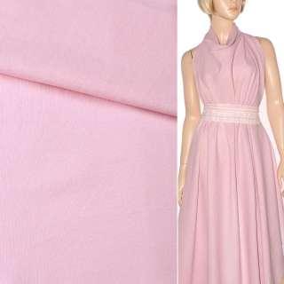 Лен розовый бледный ш.140