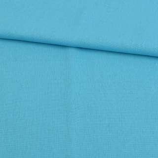 Лен голубой яркий ш.140