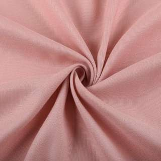 Лен стрейч с хлопком розово-серый ш.145
