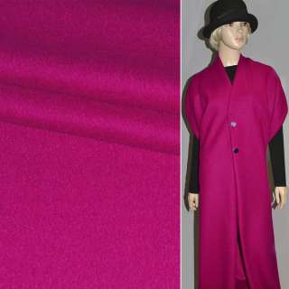 Лоден букле пальтовый малиновый яркий, ш.150