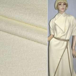Лоден пальтовый белый, ш.150