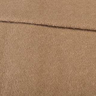 Лоден букле бежевый на трикотажной основе ш.152