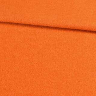 Лоден мохер оранжевый, ш.155